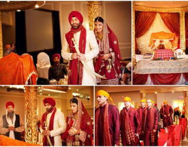 Meaning of the 4 Pheras in a Sikh Wedding Ceremony