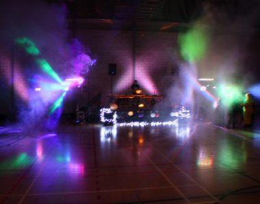 Dance floor décor for reception-WedAbout