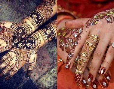 Get Inspired – Bridal Mehendi Designs, 2017