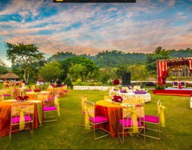 Destination Wedding in Jim Corbett Goes Green