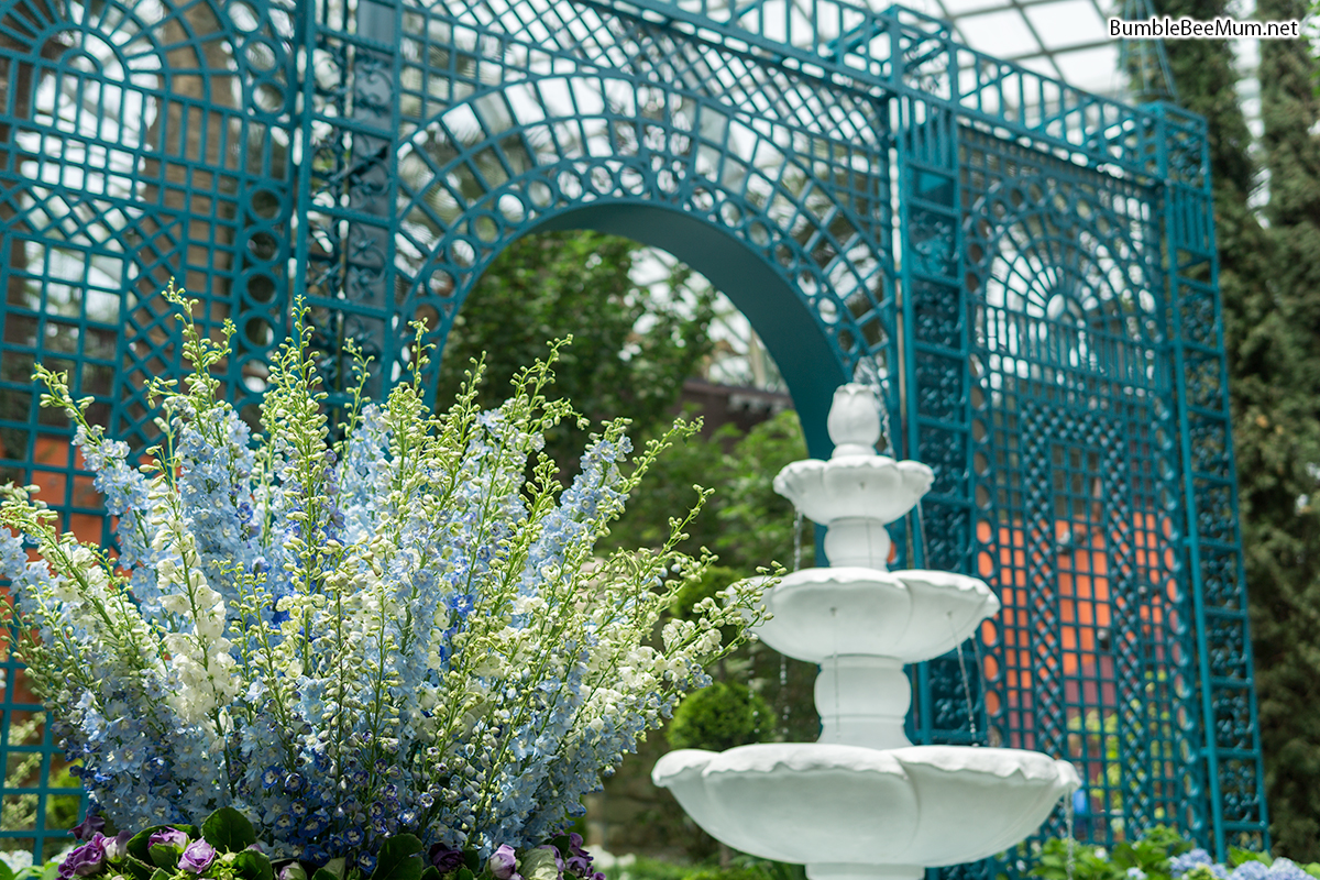 during this special edition of gardens extravaganza be treated to a display of