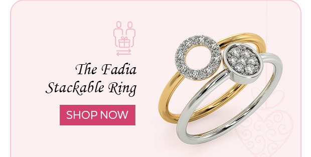 The Fadia Stackable Ring
