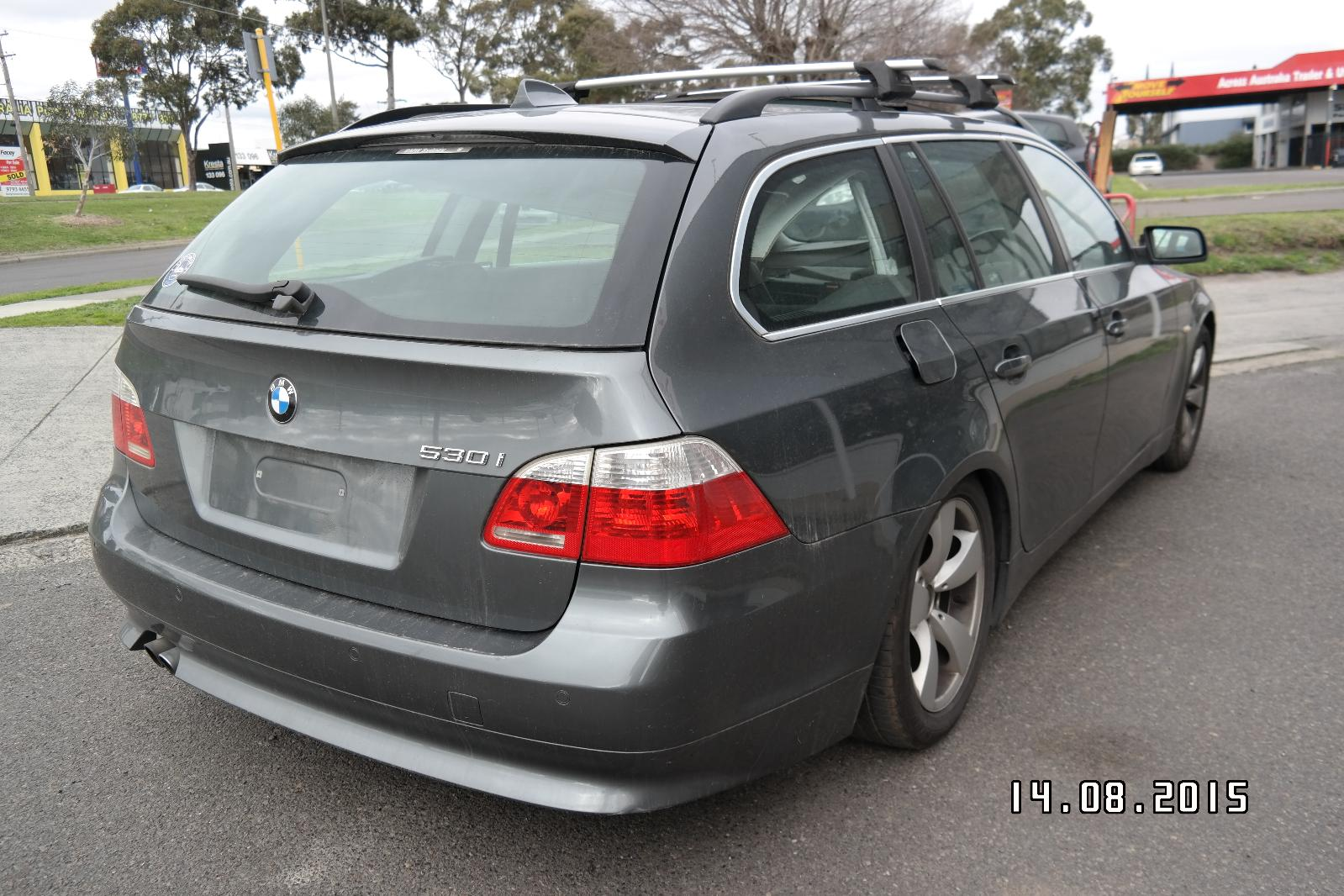 Bootlid/Tailgate 5 Series Bmw 2006