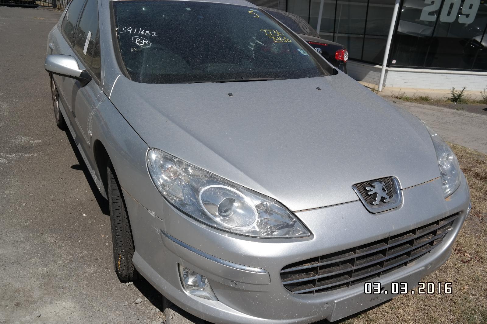 view auto part door/boot/gate lock peugeot 407 2008