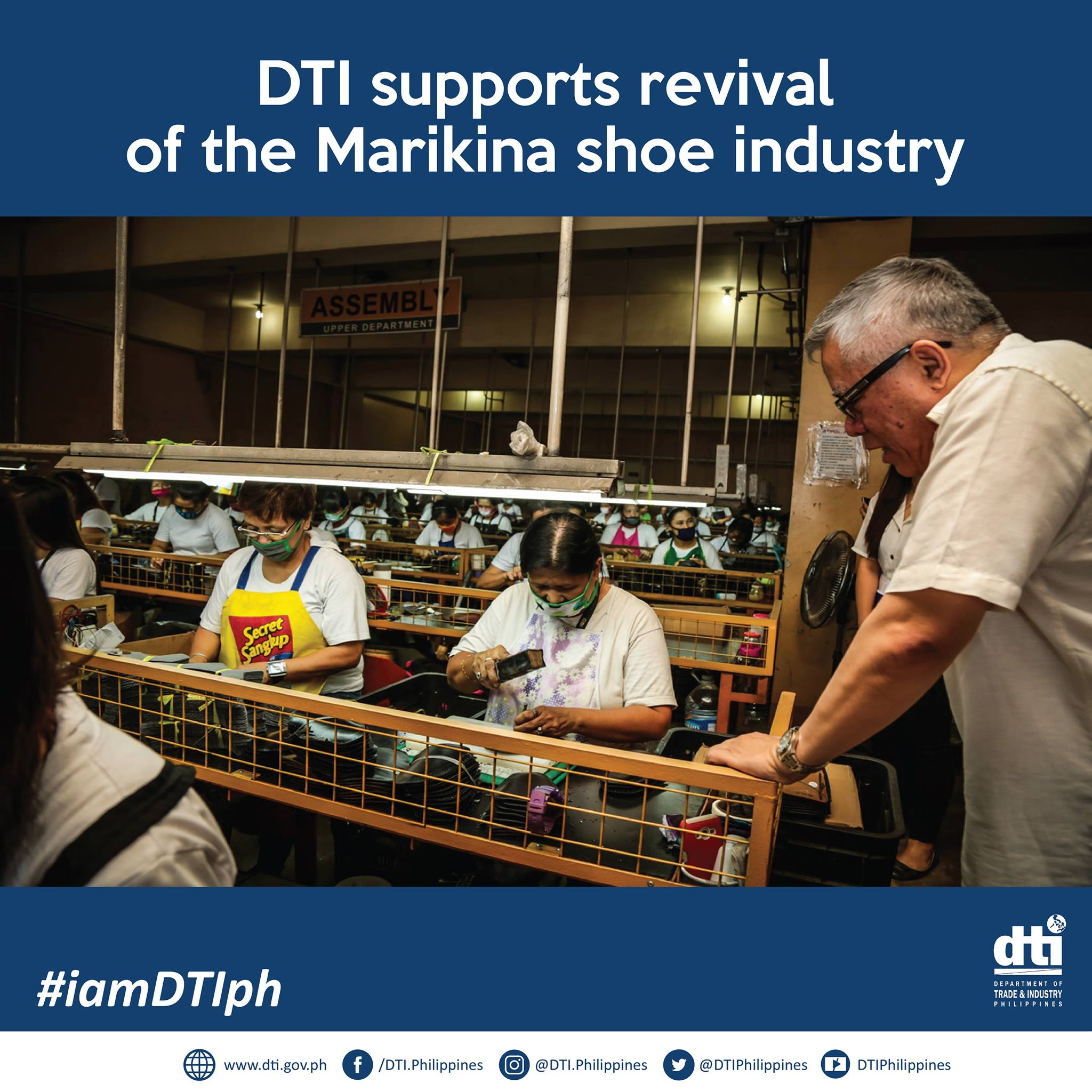 marikina shoe industry Have your shoes made in marikina, the shoemaking capital of the philippines  she practically is one of the gatekeepers of the marikina shoe industry.