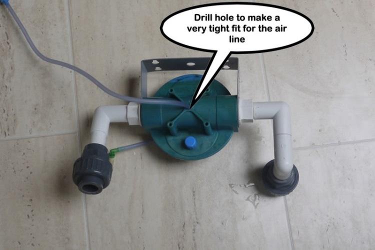 sủi gốm CO2 và cốc lọc RO