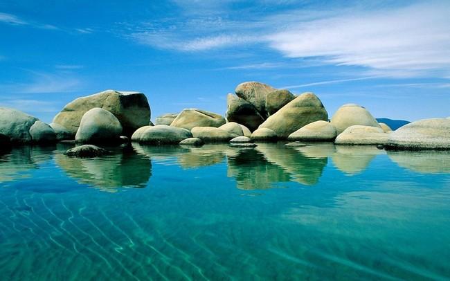 xếp đá iwagumi trong tự nhiên