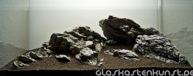 bố cục đá bể thủy sinh