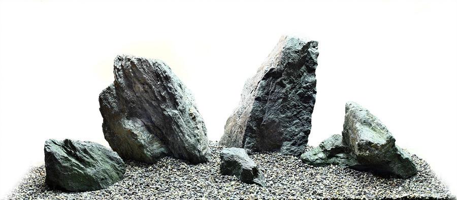 bố cục đá bể thủy sinh iwagumi