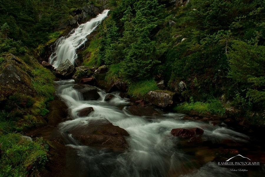 thác nước trong thủy sinh