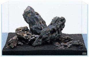 sắp xếp bố cục đá bể thủy sinh ADA