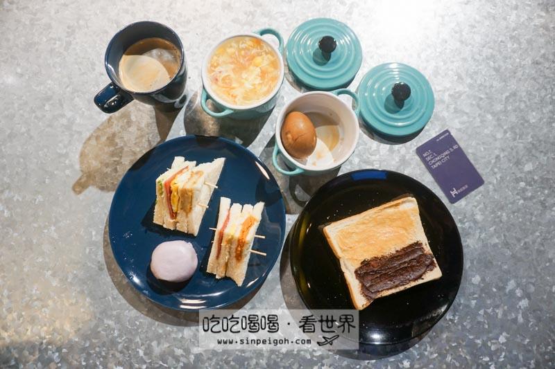 吃吃喝喝看世界 璞邸城市膠囊旅店早餐