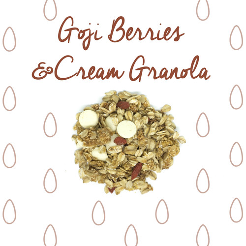 medium image of goji berries & cream granola