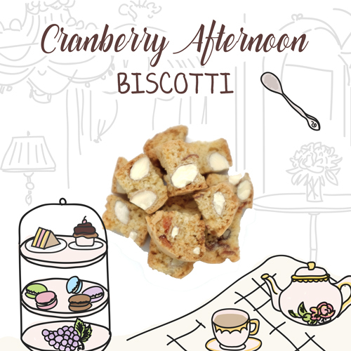 image of cranberry afternoon biscotti