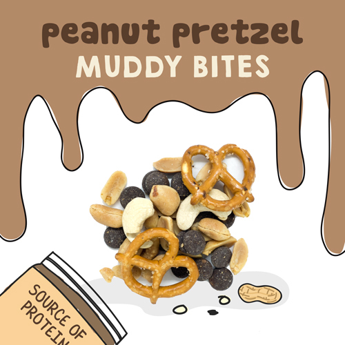 medium image of peanut pretzel muddy bites