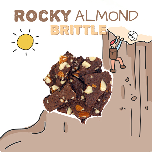 medium image of rocky almond brittle