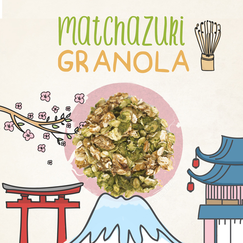 medium image of matchazuki granola