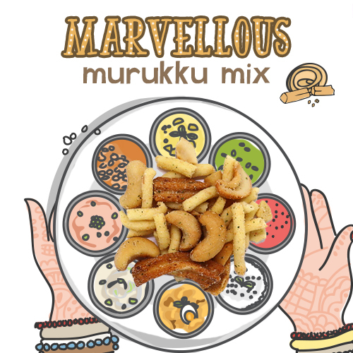 image of marvellous murukku mix