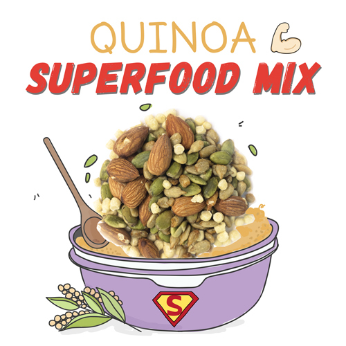 image of quinoa superfood mix