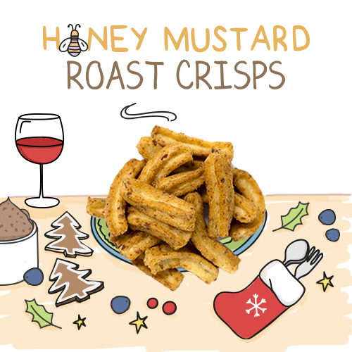 medium image of honey mustard roast crisps-30g