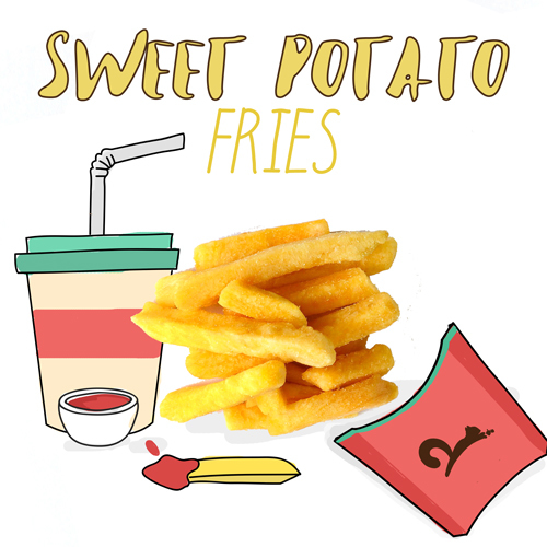 image of sweet potato fries