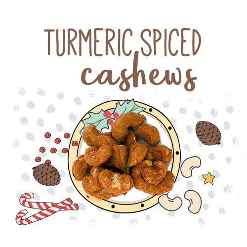 medium image of turmeric spiced cashews-30g