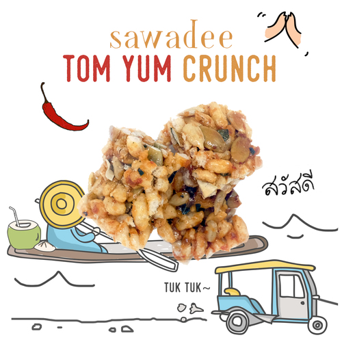 medium image of sawadee tom yum crunch