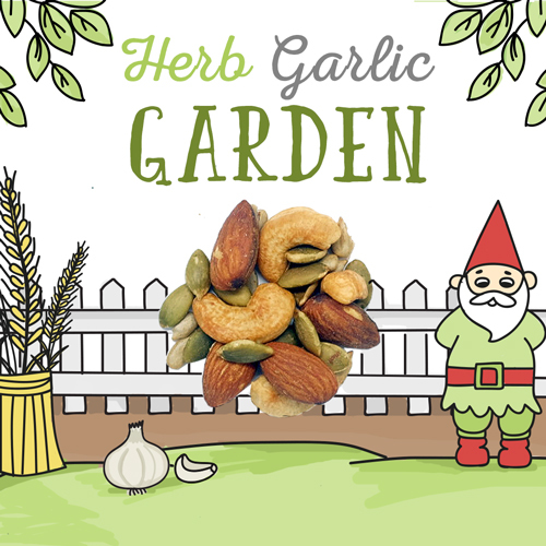 image of herb garlic garden