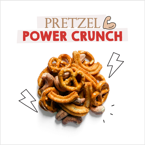 medium image of pretzel power crunch-30g