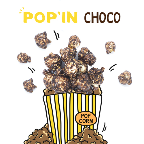 image of pop'in choco