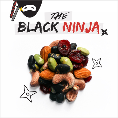 image of the black ninja
