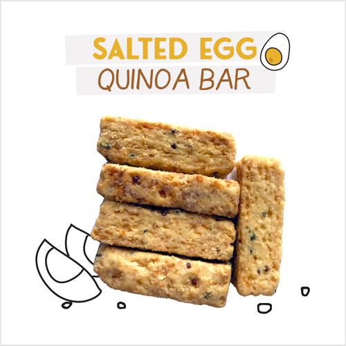 image of salted egg quinoa bar-24g