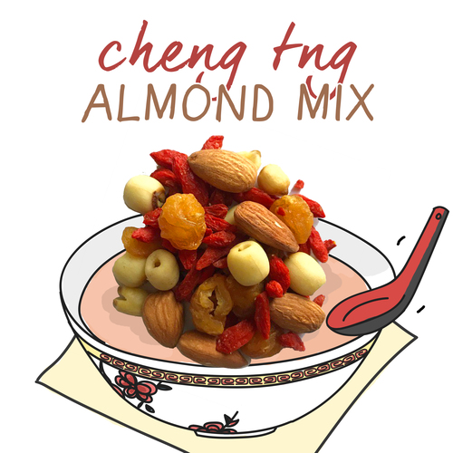 medium image of cheng tng almond mix