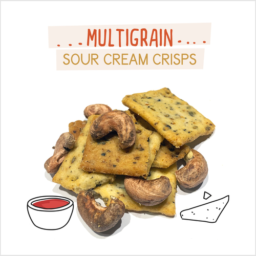 medium image of multigrain sour cream crisps-20g