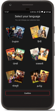 Channels across 15 languages-2