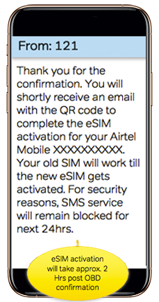 How To Activate Airtel eSIM -Process To Activate eSIM