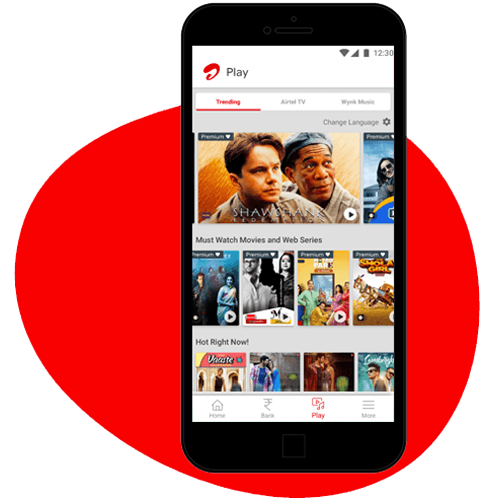 Download Airtel Thanks App - Enjoy Live TV Now
