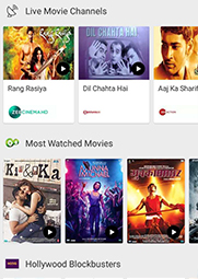 Airtel TV App - Watch Live TV, Movies, Shows, Amazon Prime Video Online