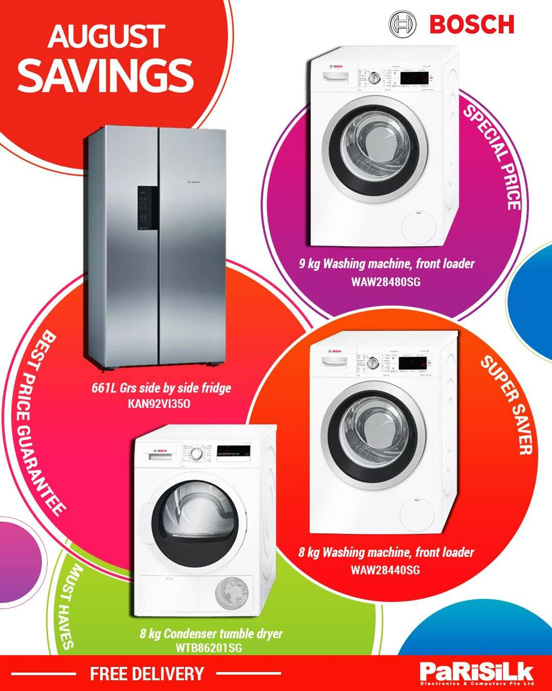 25 Aug 2020 Onwards: Bosch August Savings Promotion at Parisilk