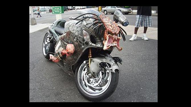 Watch out! It's Predator!
