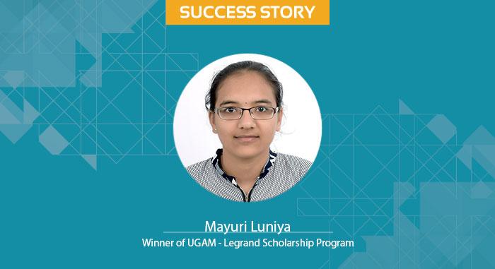 Scholar Success Story Mayuri Luniya