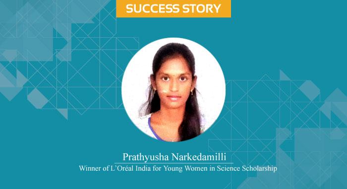 Scholar Success Story – Prathyusha Narkedamilli: A L'Oréal