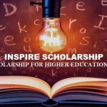 INSPIRE Scholarship : Scholarship for Higher Education (SHE)