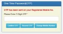 OTP Verification on NSP