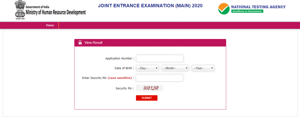 How to Download JEE Main Result