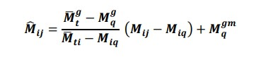 IBPS formula to calculate the normalized marks