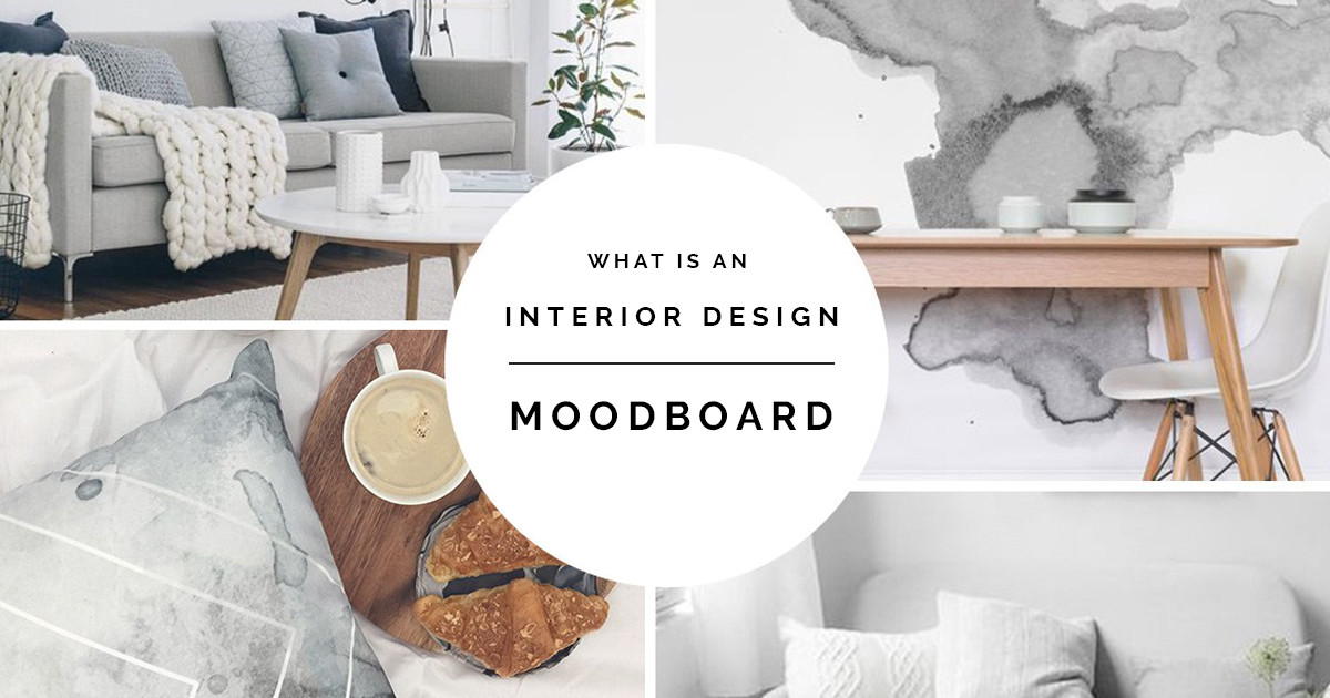 What is an Interior design Moodboard?