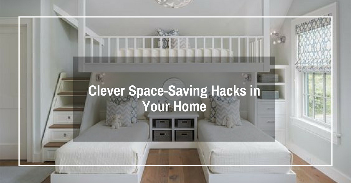 Clever Space-Saving Hacks in Your Home