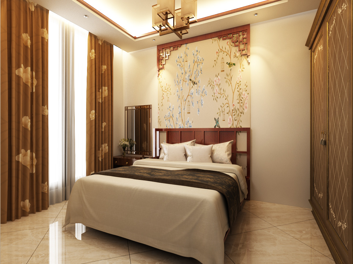 The Chinese Style Bedroom 3