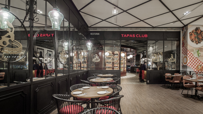 Tapas Club at Pavilion Mall